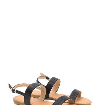Totally Classic Faux Leather Sandals GoJane.com