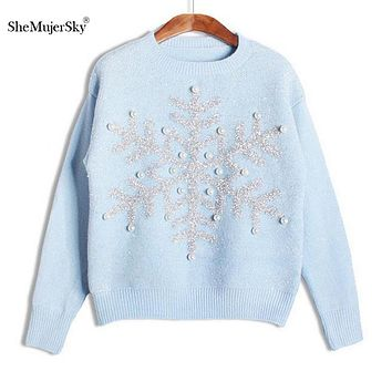 Sweaters women pull femme hiver pullovers and sweaters christmas women pullover knitted sweater for womens jumpers 2015 Winter