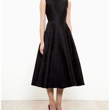 ROKSANDA | Tatun Wool and Silk Dress | brownsfashion.com | The Finest Edit of Luxury Fashion | Clothes, Shoes, Bags and Accessories for Men & Women