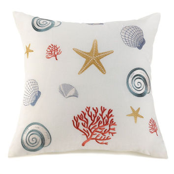 Seashells Decorative Pillow