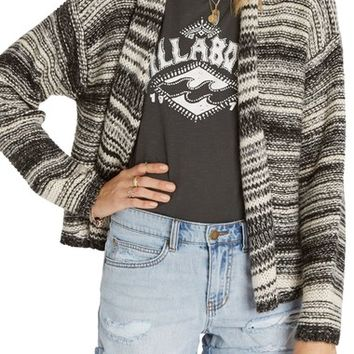 Billabong Over the Moon Stripe Cardigan | Nordstrom