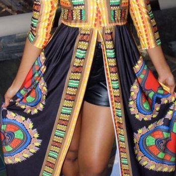 Ethnic Heart Maxi Dress