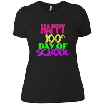 Happy 100th Day of School Tshirt 100 Day TEACHER STUDENT