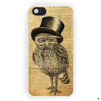 Owl Vintage Retro For iPhone 5 / 5S / 5C Case