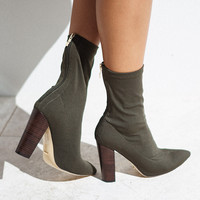 Odyssey Boots - Khaki - Shoes by Sabo Skirt