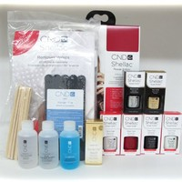 CND Shellac Intro Pack (lamp is not included)