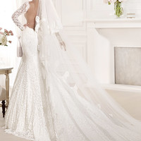 Tarik Ediz Wedding dress G1114 - netfashionavenue.com