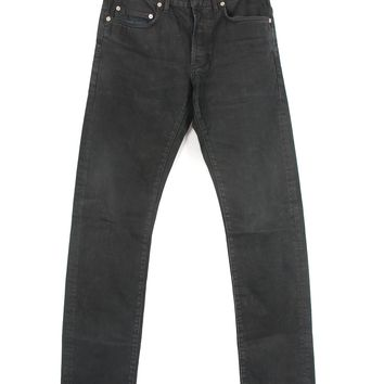 Dior Black Coated Jeans