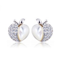 Apple of My Eyes Earrings with Swarovski Elements