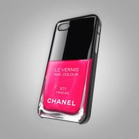 Chanel Nail Polish - ( Fracas - Girly Make Up - iPhone case Make Up ) - KCTB008 - Design on Hard Cover - iPhone 4 / 4S Case, iPhone 5 Case