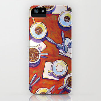 The Get Together ... Coffee Art iPhone Case by Amy Giacomelli | Society6