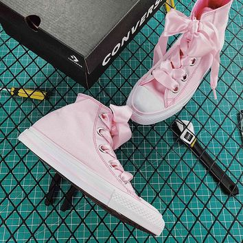 Converse Chucks Sisters All Star Plts Satinpoint OX Pink - Best Online Sale