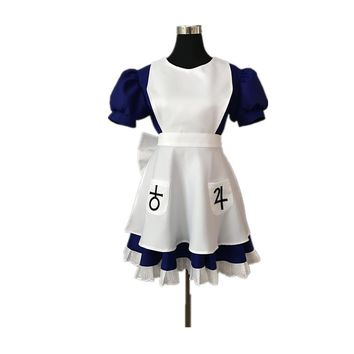 Alice Madness Returns Cosplay Costume Halloween Costumes For Women Girls Any Size  Custom Made