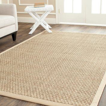 Safavieh Hand-woven Sisal Natural/ Beige Seagrass Rug (3' x 5') | Overstock.com Shopping - The Best Deals on 3x5 - 4x6 Rugs