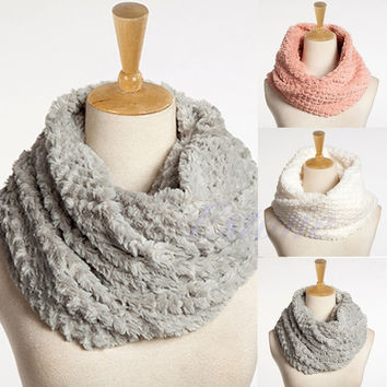 Klv Solid Scarves For Women C5355-pk