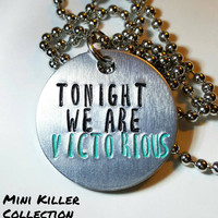 Panic! At the Disco - PATD- Tonight we are victorious - necklace