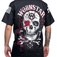 Wornstar Death Mechanic Work Shirt • Stage Clothes, Cool T Shirts and Graphic Tees