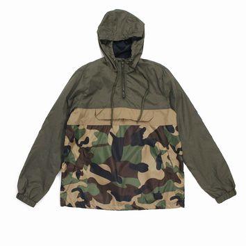 Brandon Camo Windbreaker