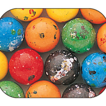 Balldozers Giant Jawbreakers with Gum Center Candy Balls: 85-Piece Cas