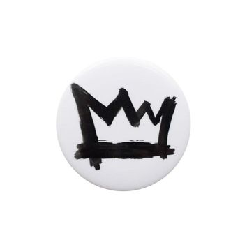 Crown White Button
