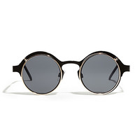 Spitfire Techno 4 Sunglasses Black/Gold One