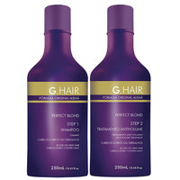 INOAR GERMAN FORMULA KERATIN G HAIR PERFECT BLOND TREATMENT 8.4 oz (250ml) KIT