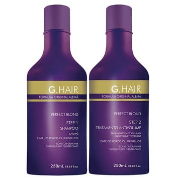 G HAIR PERFECT BLOND GERMAN FORMULA INOAR SHAMPOO E TRATTAMENTO 8,4 once (250ml) KIT