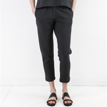 Creatures of Comfort Asher Pant - Sponge Black