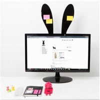 Rabbit Ear Memo Board