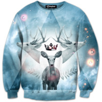 Deer King Crewneck