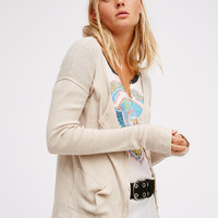 Free People On the Go Long Sleeve Cardi