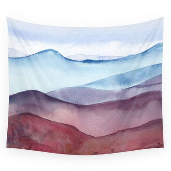 Society6 Mountains Wall Tapestry