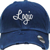 LOGIC Distressed Baseball Hat