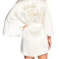 Naked Princess Mother of the Bride Silk Robe