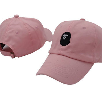BAPE  Women Men Embroidery Sports Sun Hat Hip Hop Baseball Cap Hat