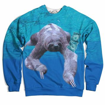 Nirvana Sloth Sweater