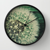 Just a glimpse Wall Clock by LJehle Photography