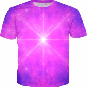 God's Forehead Instrument | Universe Galaxy Nebula Star Clothes | Rave & Festival Shirt