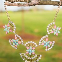 View Clearly Necklace-Mint