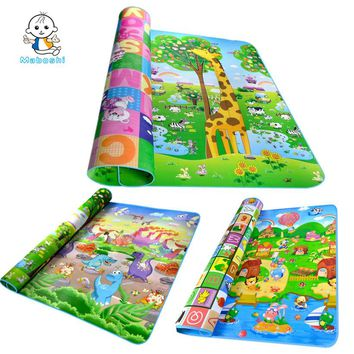 Authorized Authentic Maboshi 6 Designs Baby Play Mat Child Beach Mat Picnic Carpet Baby Crawling Mat