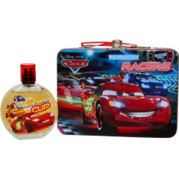 Disney CARS 2 EDT SPRAY 3.4 OZ & LUNCH BOX UNISEX