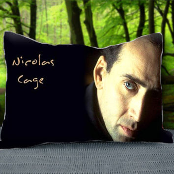 "Amazing Actor Nicholas Cage Custom Pillow Case 30"" x 20"""