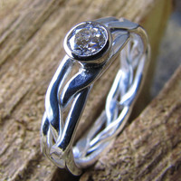Womens Diamond Wedding Ring Engagement Ring