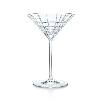 Tiffany & Co. - Plaid:Martini Glass