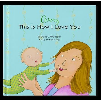 This Is How I love You Personalized Storybook - Soft Cover
