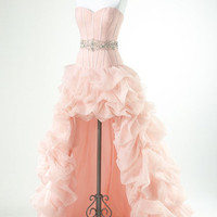 Enhancing Ball Gown Sweetheart Asymmetrical Beaded Prom Dress from Dresses 2013