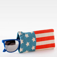 AMERICAN FLAG SUNGLASSES CASE
