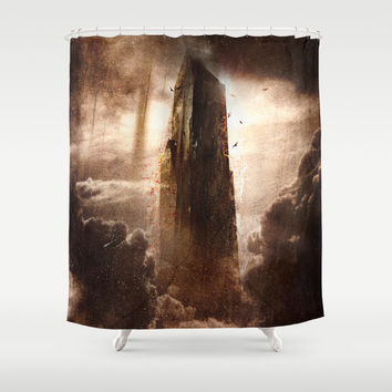 Anghst Shower Curtain by HappyMelvin