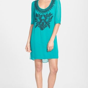 Women's Plenty by Tracy Reese Embroidered Tunic Dress,