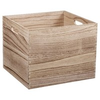 Wood Milk Crate Large - Pillowfort™